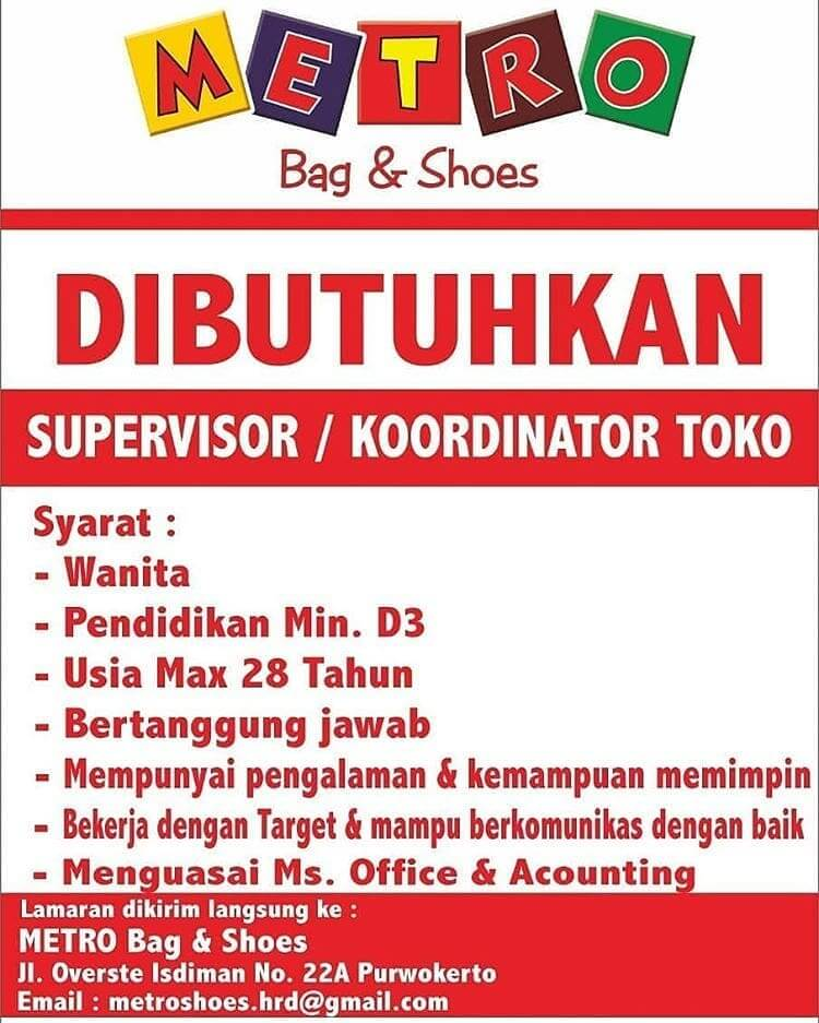 Metro Bag and Shoes Purwokerto