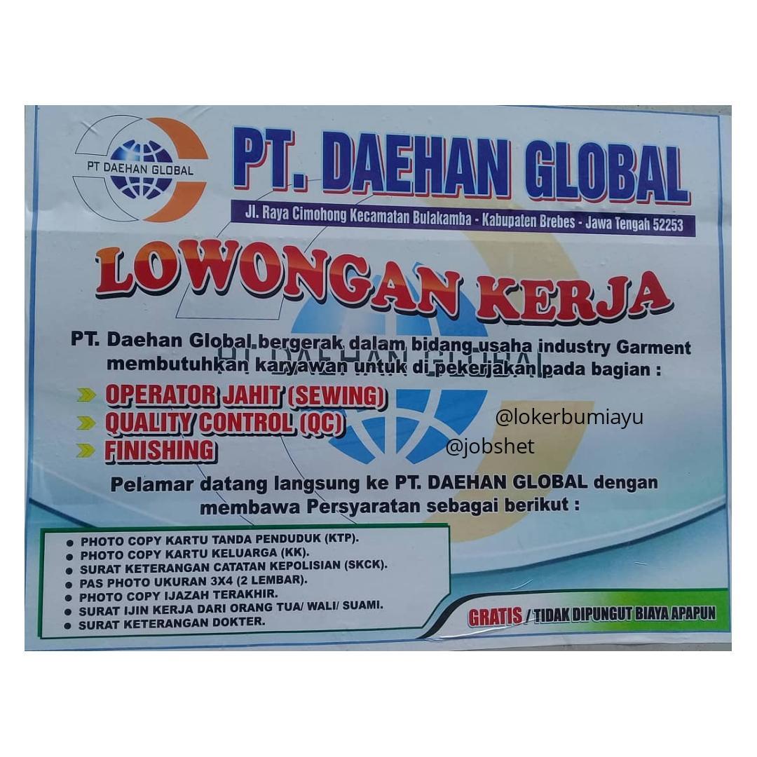 PT. DAEHAN GLOBAL