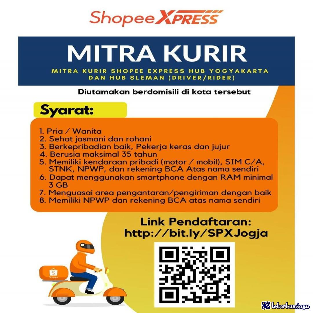 Lowongan Kerja Shopee Express Maret 20