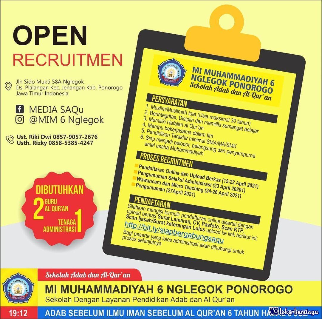 MI Muhammadiyah 6 Nglegok