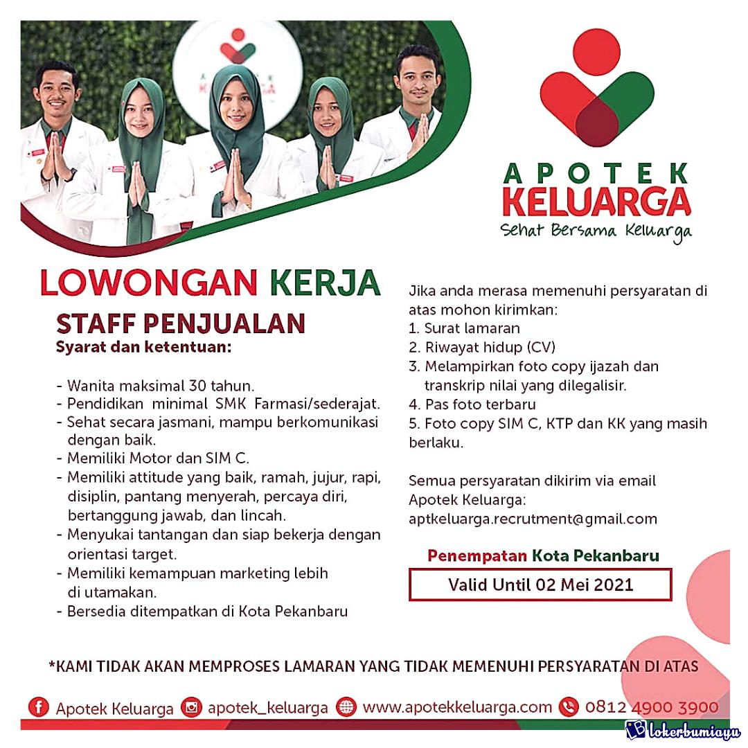 Lowongan Kerja Di Pekanbaru Riau Juni 2021