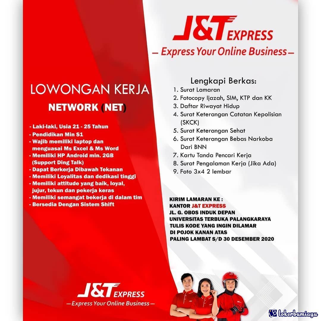 Lowongan Kerja S1 Posisi Network Net Februari 2021