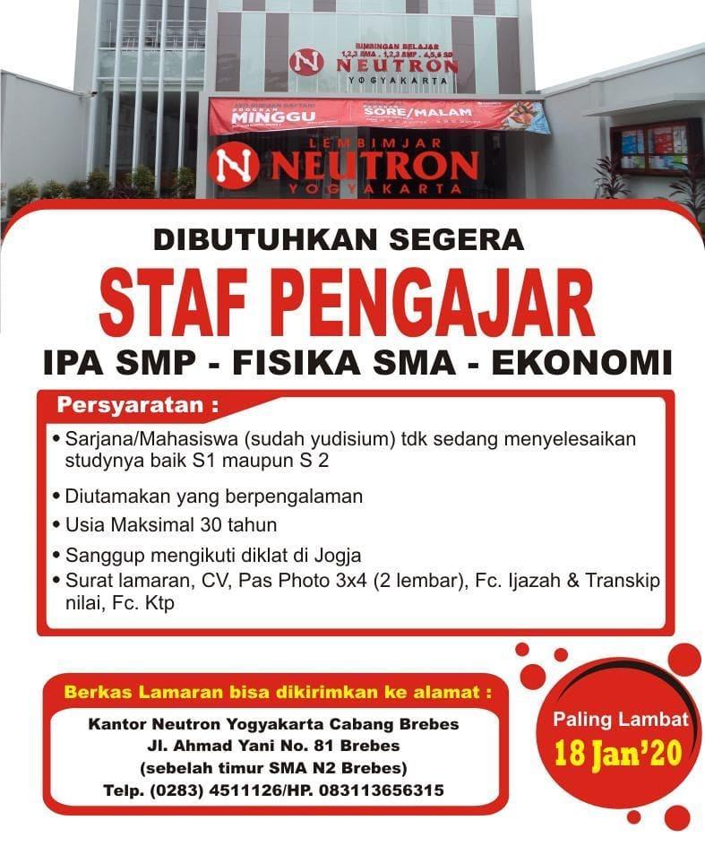 Neutron Yogyakarta Cabang Brebes
