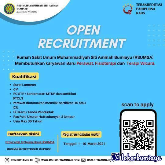 RSU Muhammadiyah Siti Aminah Bumiayu