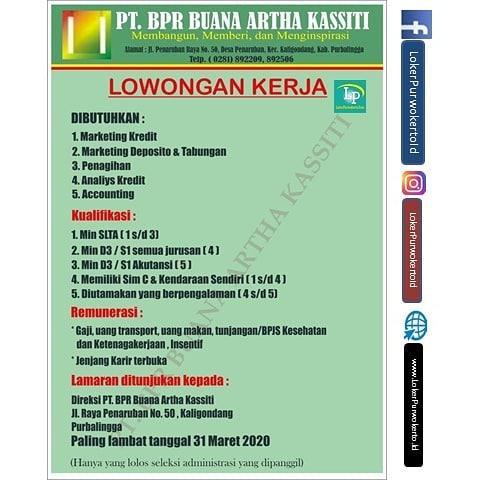 PT BPR Buana Artha Kassiti Purbalingga