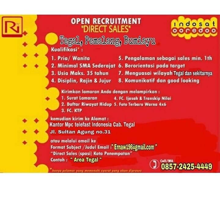 Lowongan Kerja Pt Rama Indonesia Informasi Lowongan Kerja