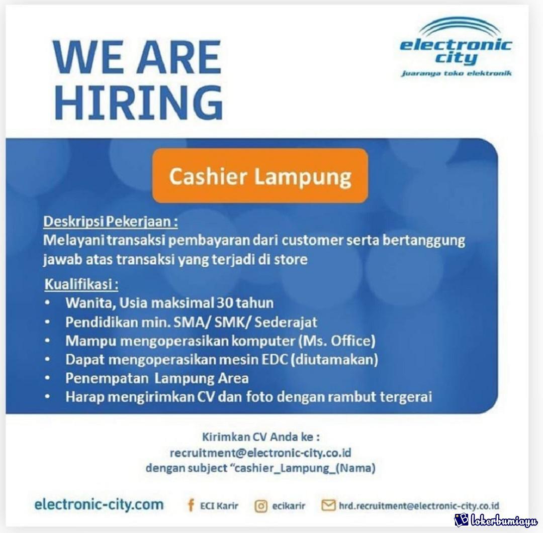 Lowongan Kerja Di Bandar Lampung Lampung Juli 2021