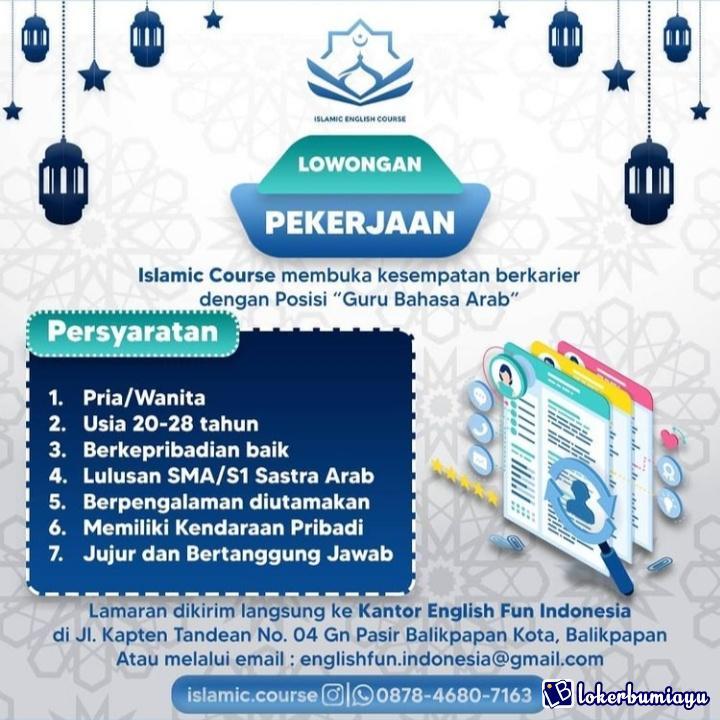 Islamic English Course Balikpapan