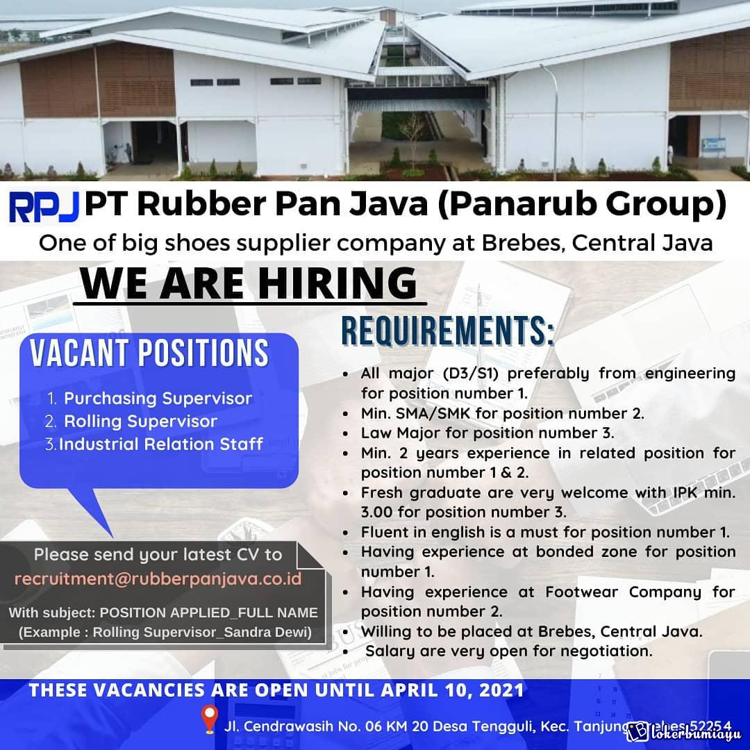 PT Rubber Pan Java Brebes