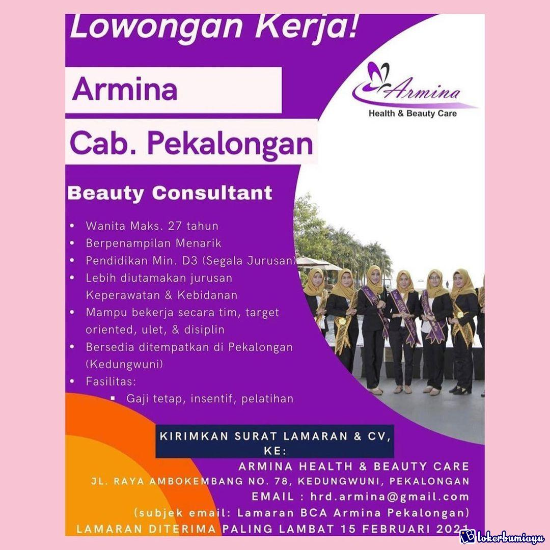 Armina Health Beauty Care Cabang Pekalongan