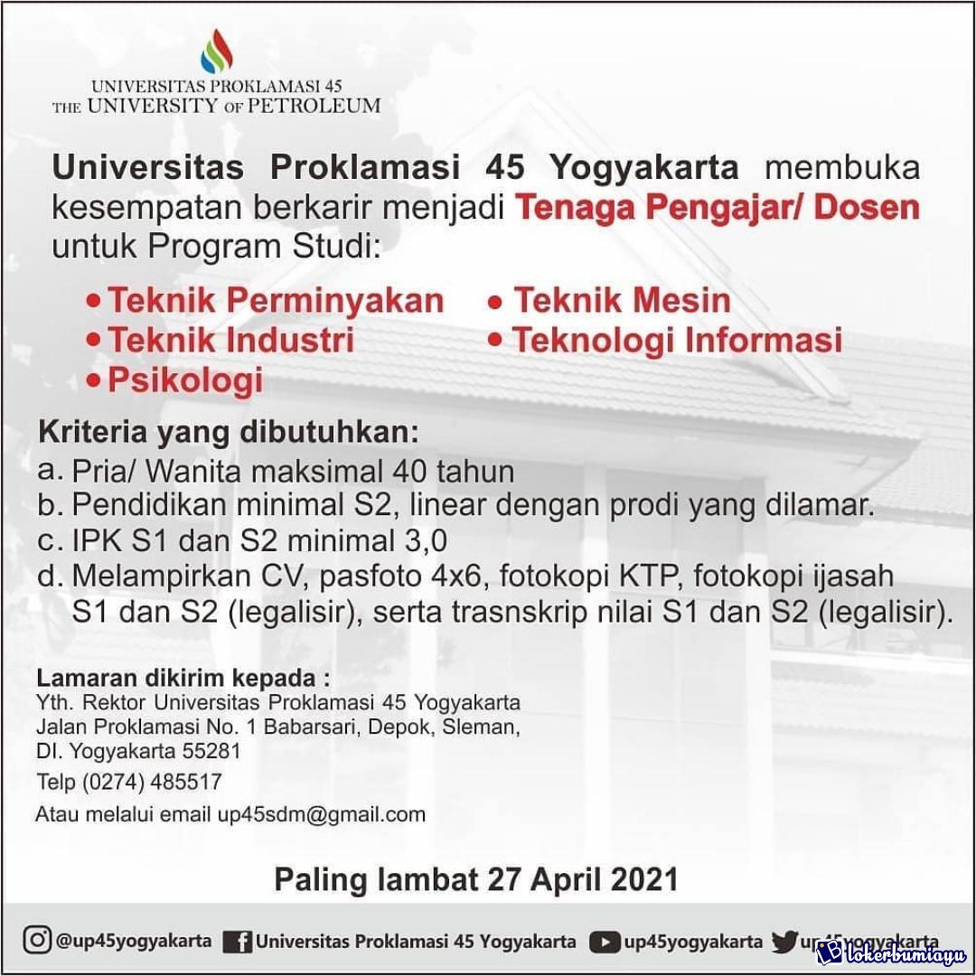 Universitas Proklamasi 45 Yogyakarta