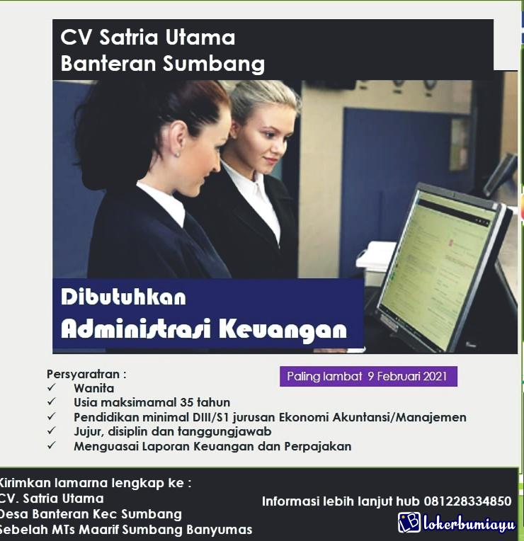 CV Satria Utama Banteran Sumbang