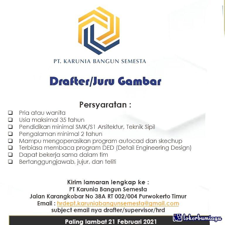 PT Karunia Bangun Semesta Purwokerto
