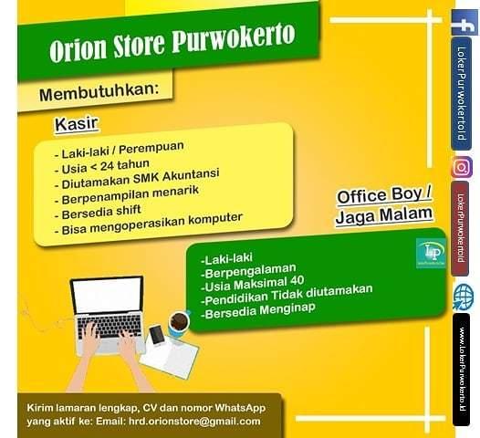 OrionStore Purwokerto