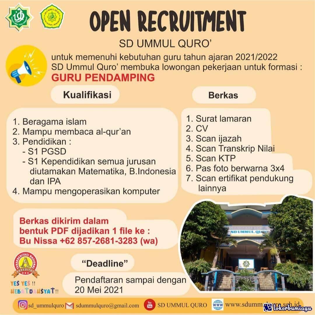 SD Ummul Quro Semarang