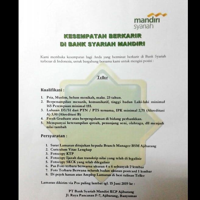 PT. BANK SYARIAH MANDIRI
