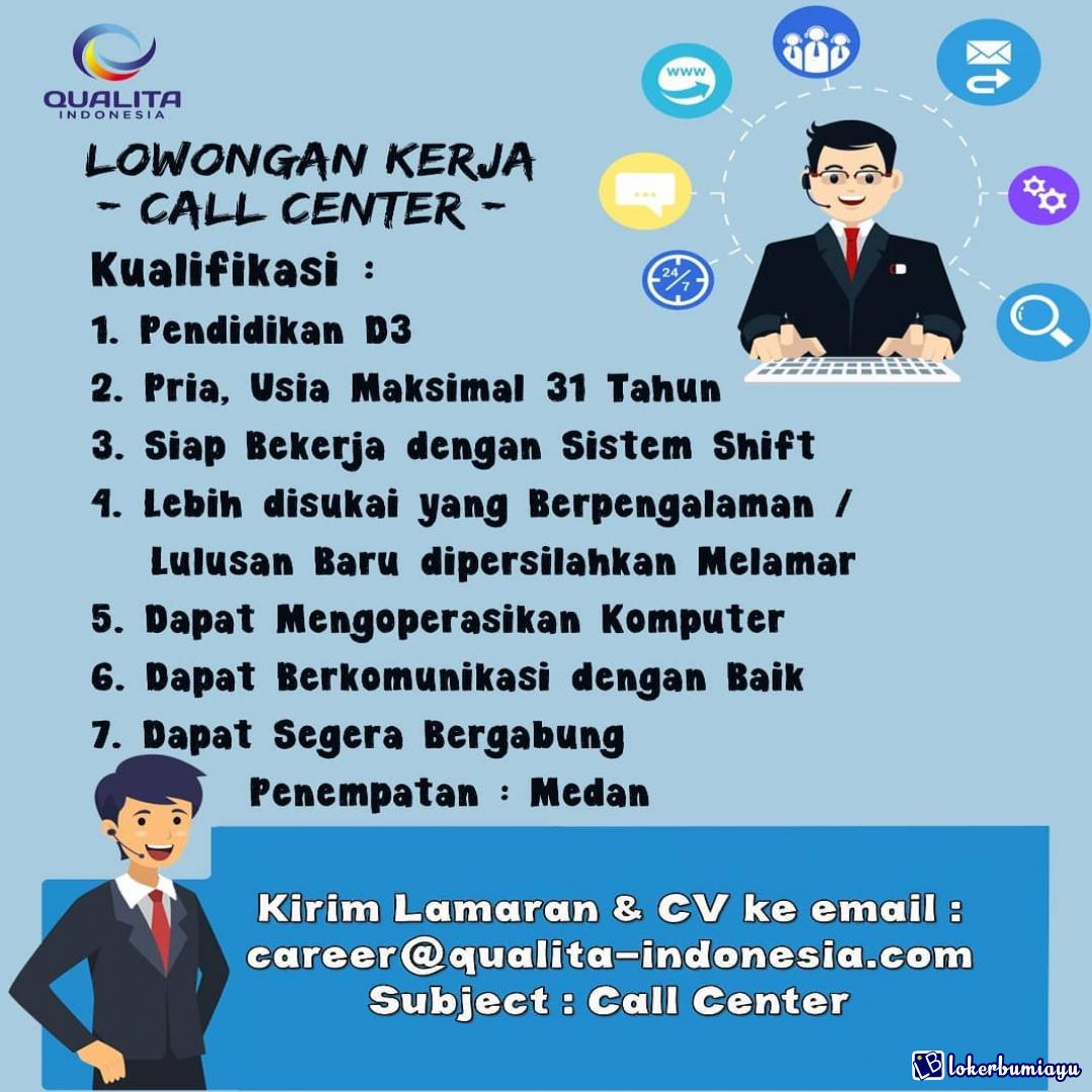 Lowongan Kerja Di Medan Sumatera Utara Februari 2021