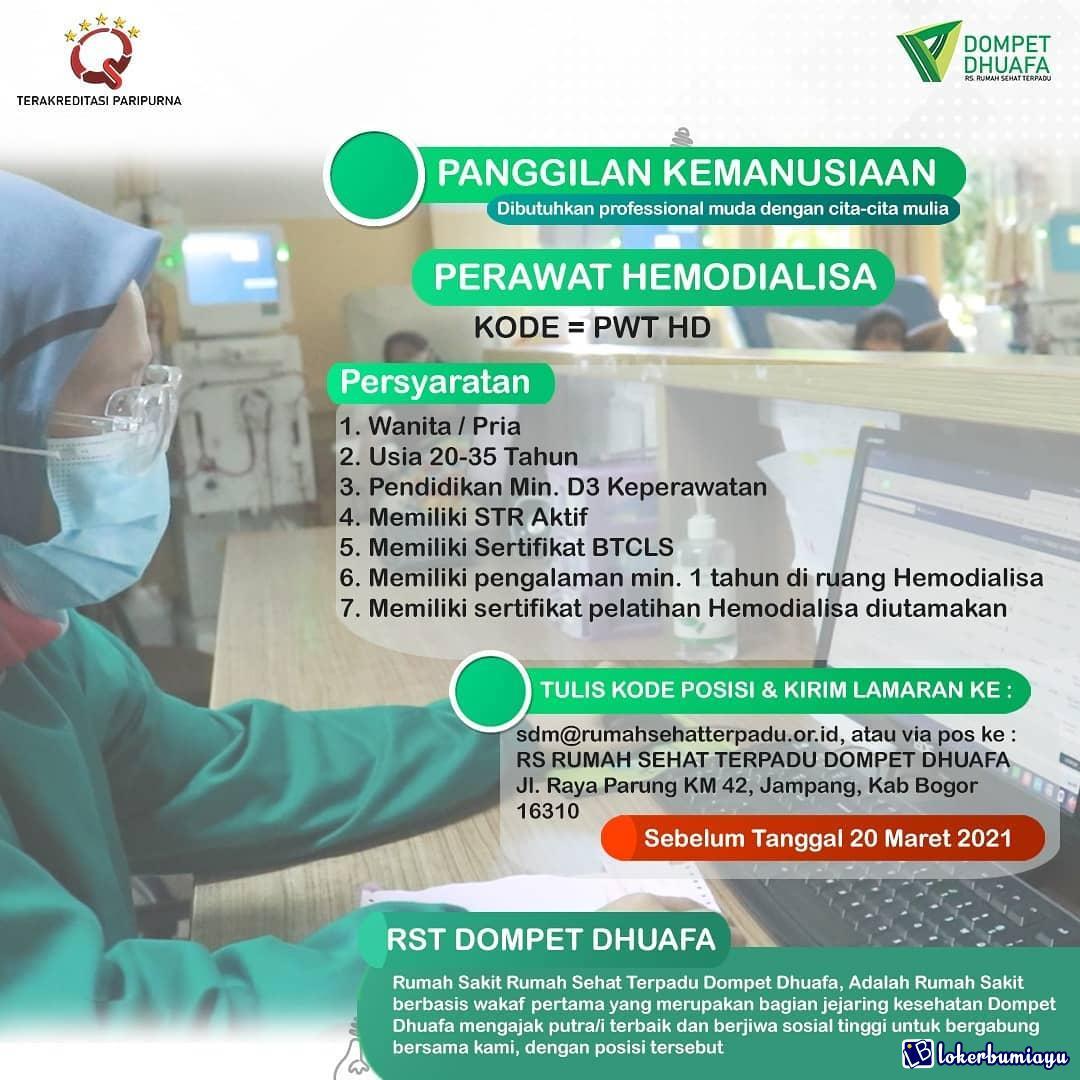 RS Terpadu Dompet Dhuafa Bogor