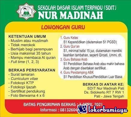 SDIT Nur Madinah Pati