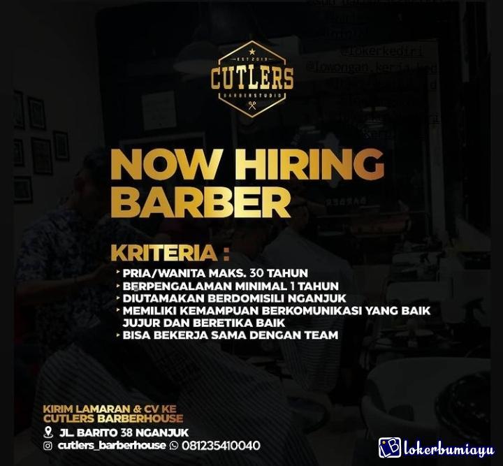 Cutlers Barberhouse Nganjuk