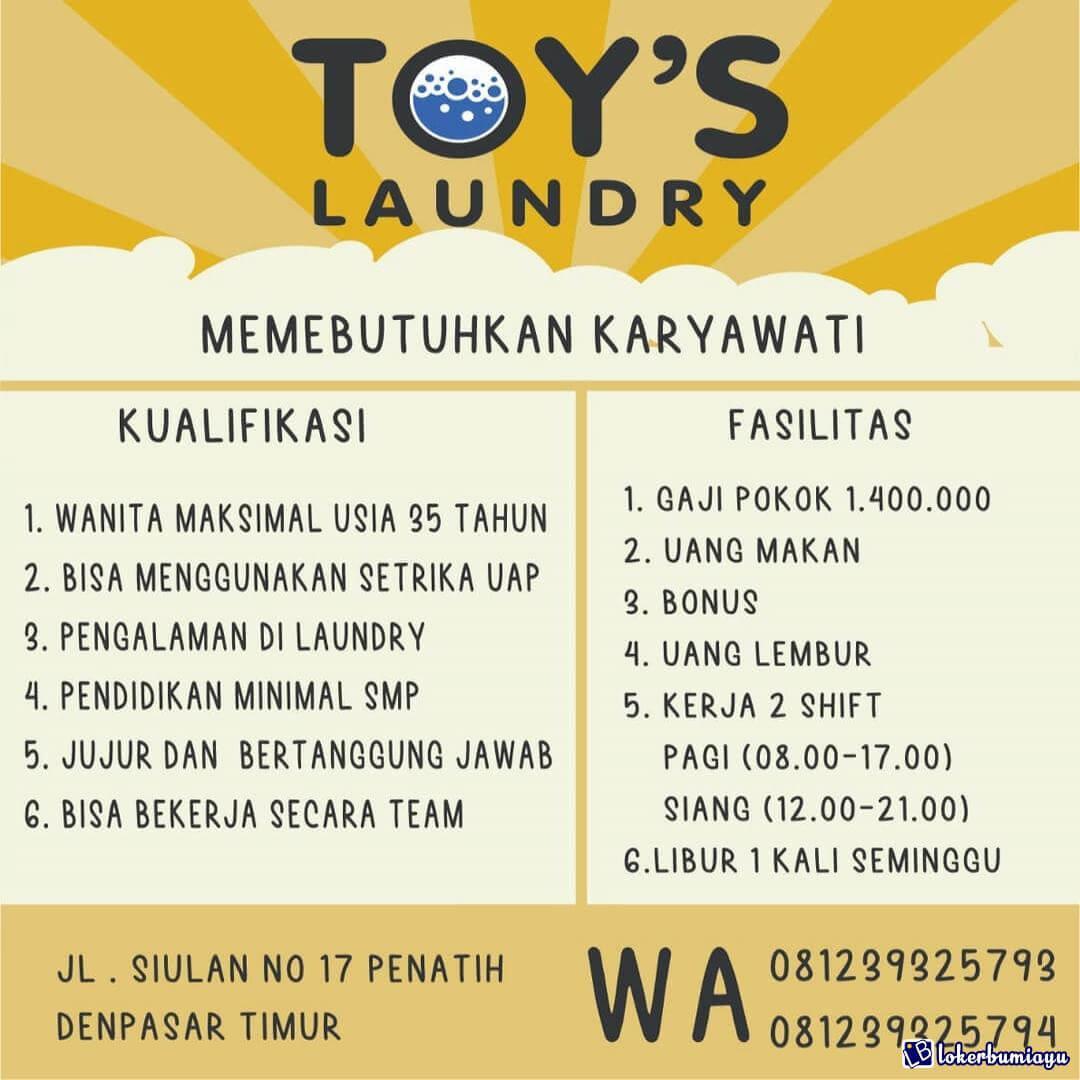 Toys Laundry Denpasar