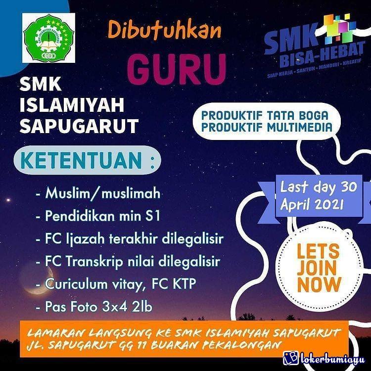 SMK Islamiyah Sapugarut
