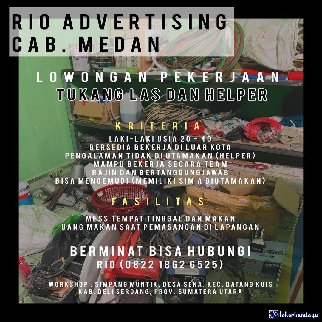 RIO ADVERTISING CABANG MEDAN