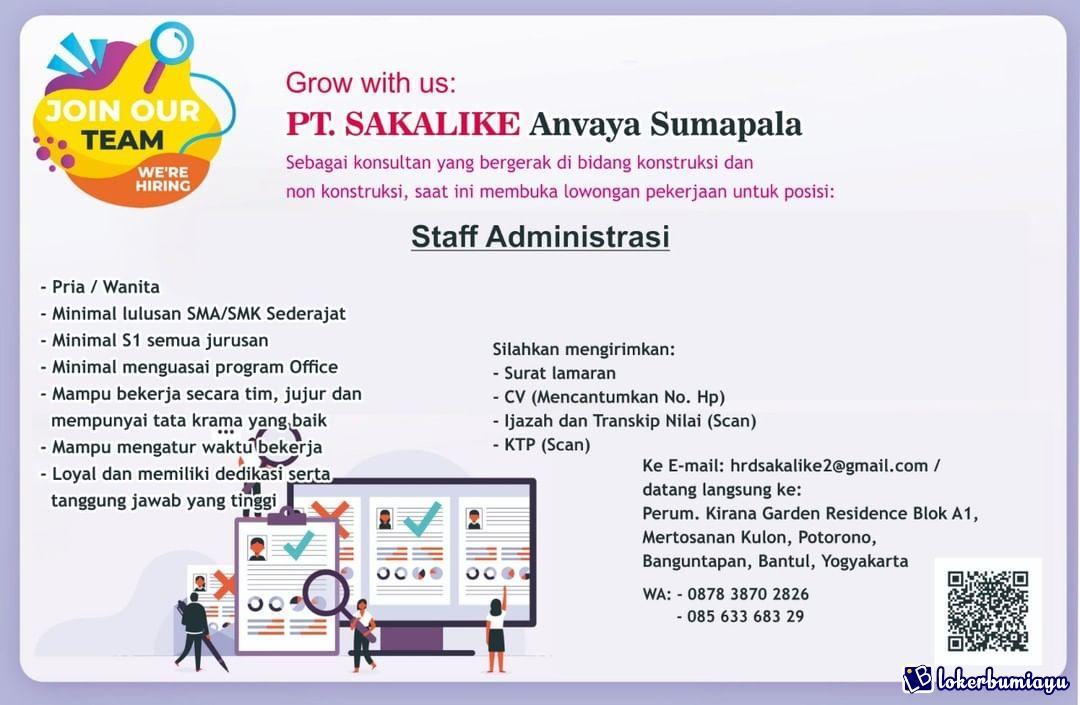 PT Sakalike Anvaya Sumapala