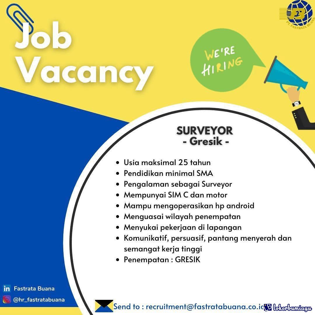 Get Lowongan Kerja Gresik 2021 Background