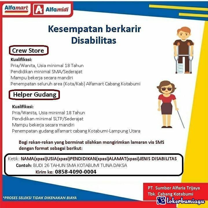 PT Alfamart alfamidi Lampung Utara