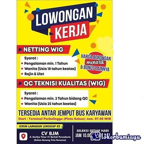 CV Bintang Jaya Makmur Purwokerto