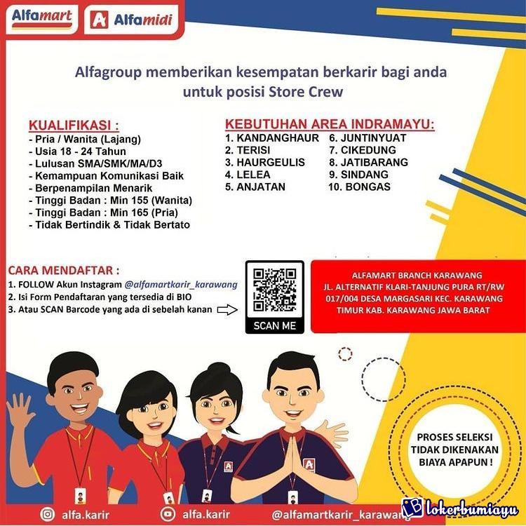 Lowongan Kerja Pt Sumber Alfaria Trijaya Tbk Branch Karawang Januari 2021