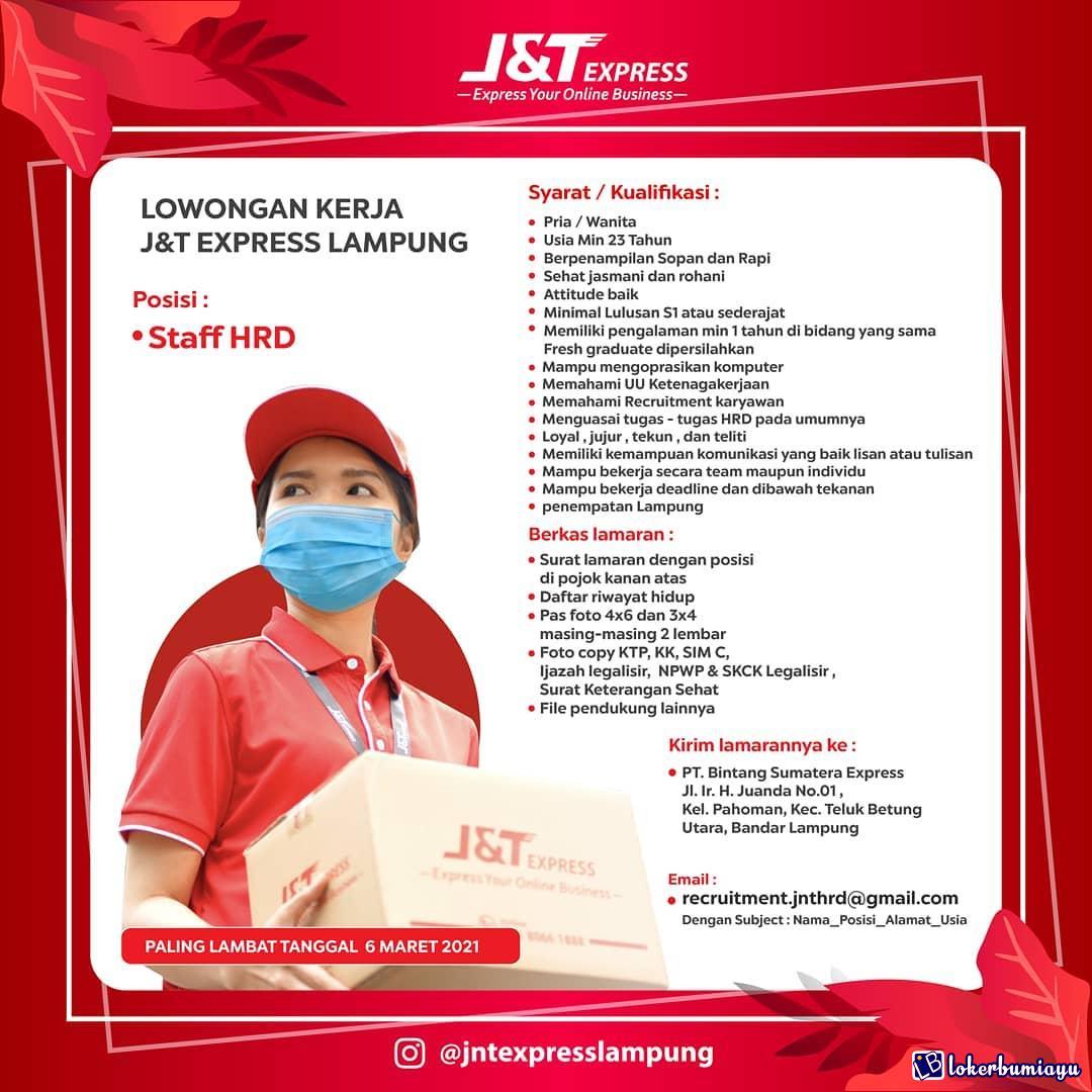 JNT Express Lampung