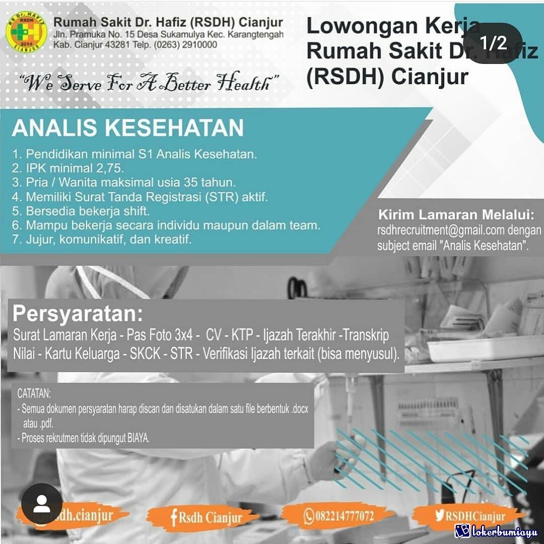 Lowongan Pekerjaan Terbaru Di Cianjur Jawa Barat Bulan Ini 2021