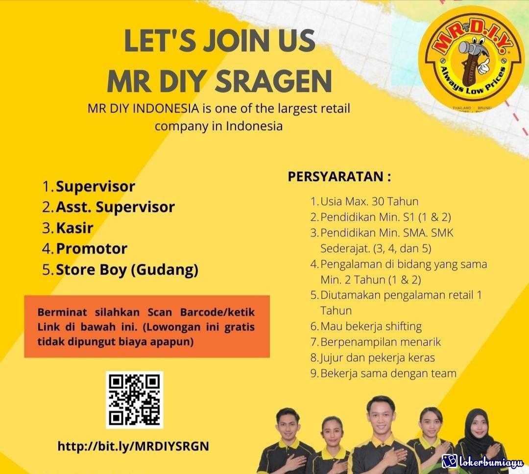 MR DIY INDONESIA