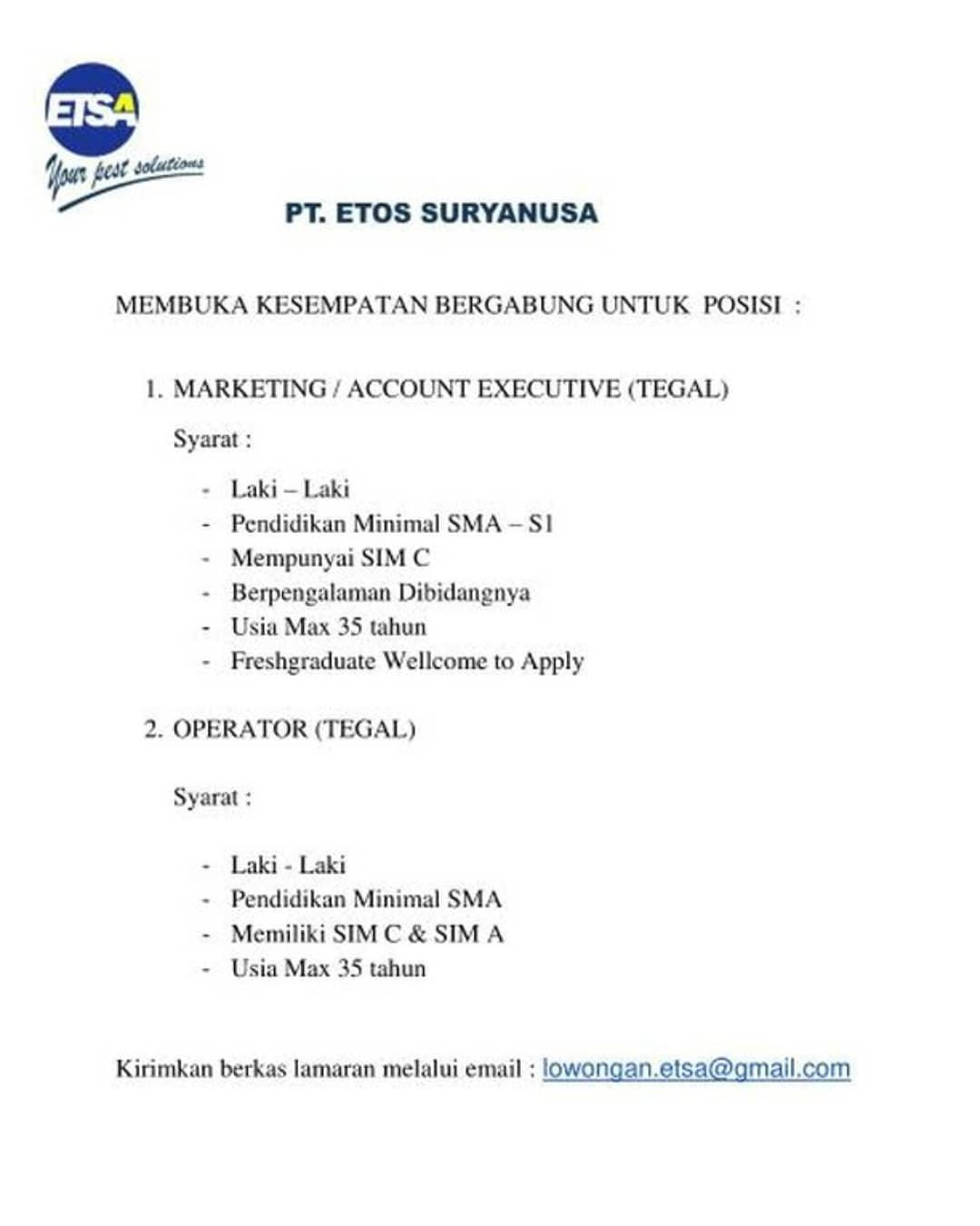 PT. Etos Suryanusa