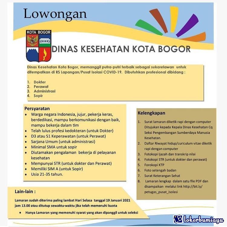 Dinas Kesehatan Kota Bogor