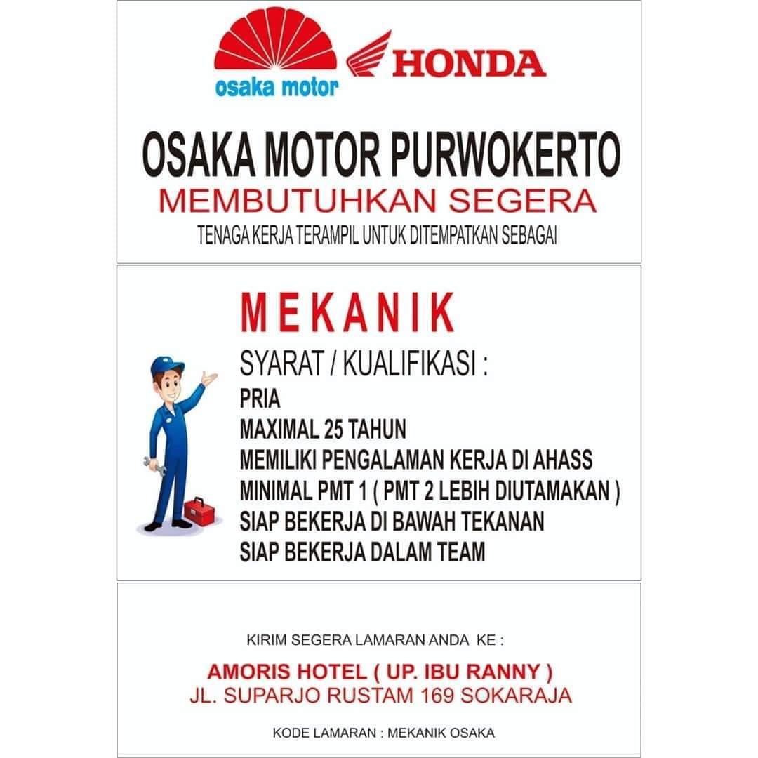 HONDA OSAKA MOTOR PURWOKERTO