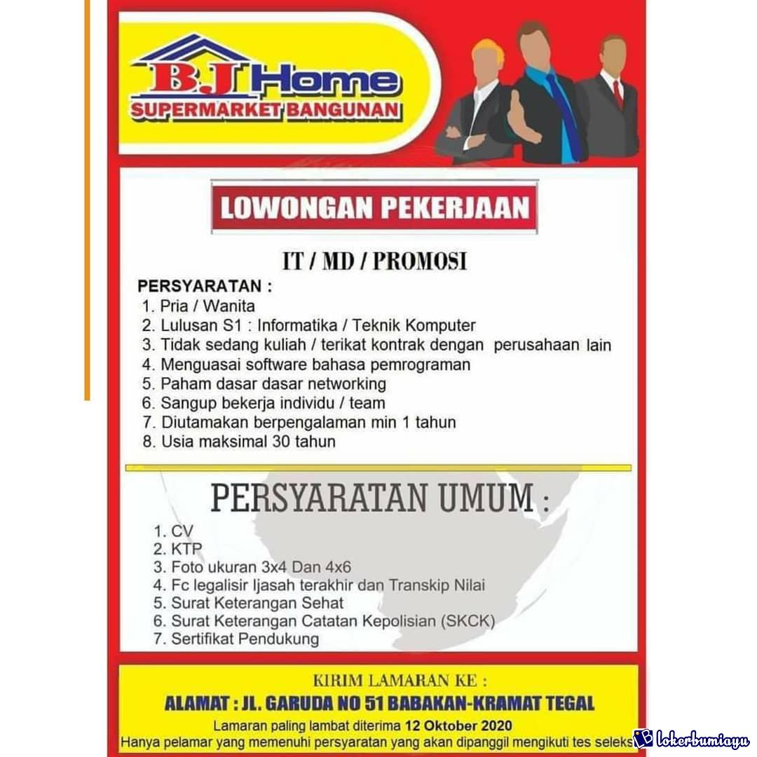 BJ Home SUPERMARKET BANGUNAN