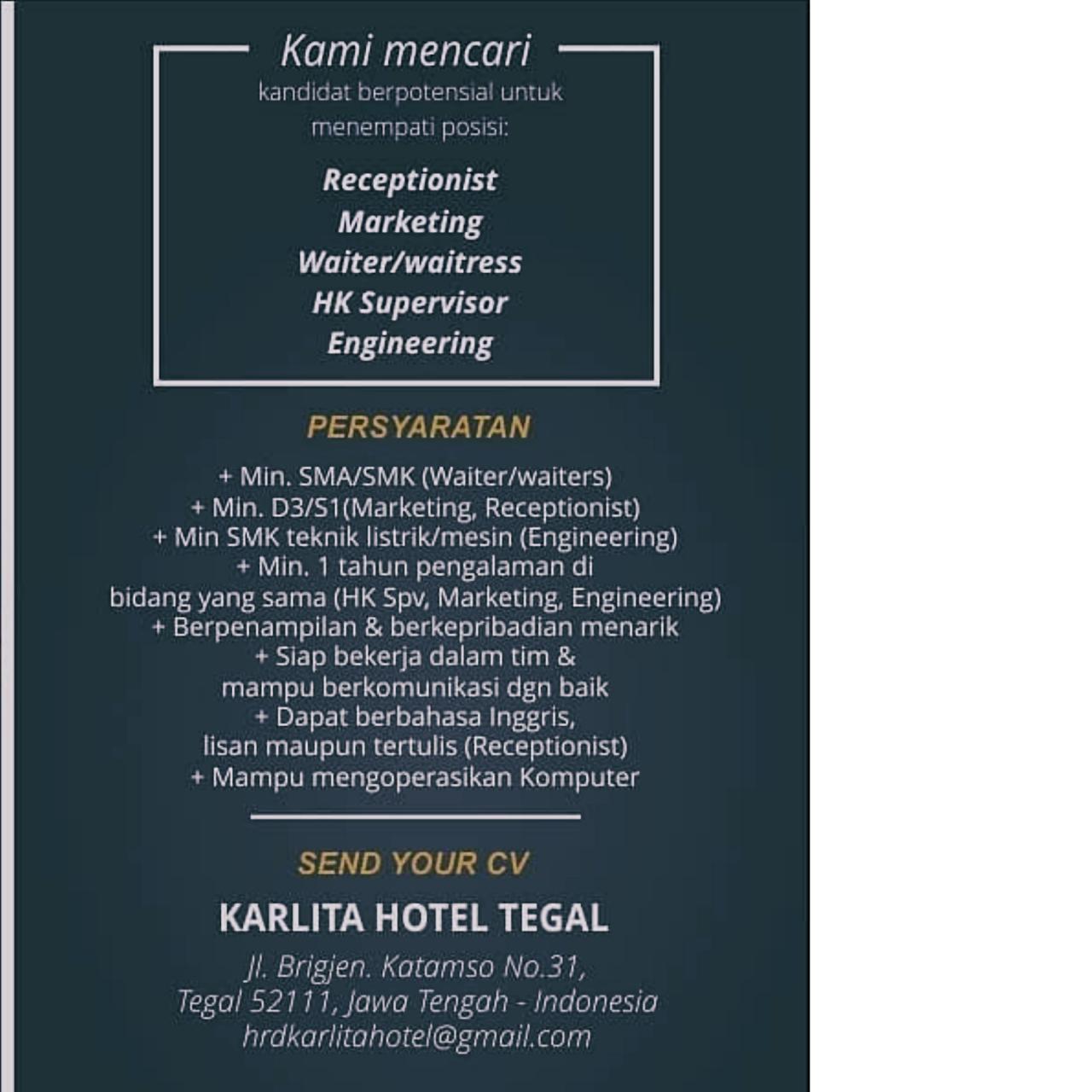 KARLITA HOTEL TEGAL