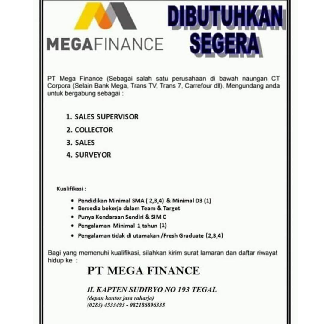 PT. MEGA FINANCE