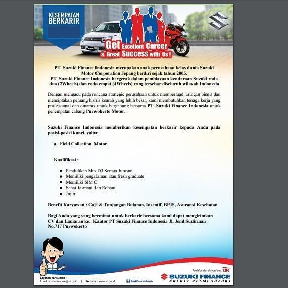 PT. Suzuki Finance Indonesia