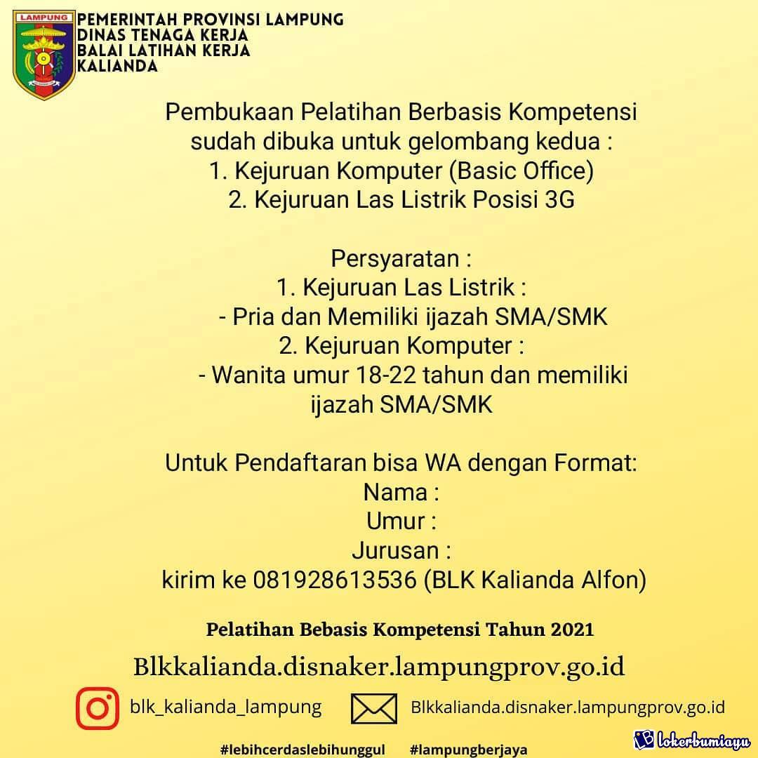 Lowongan Kerja Di Lampung Selatan Lampung Juli 2021