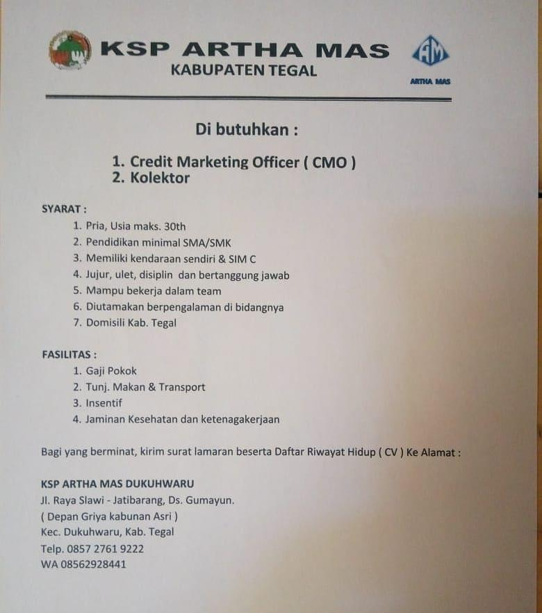 KSP ARTHA MAS TEGAL