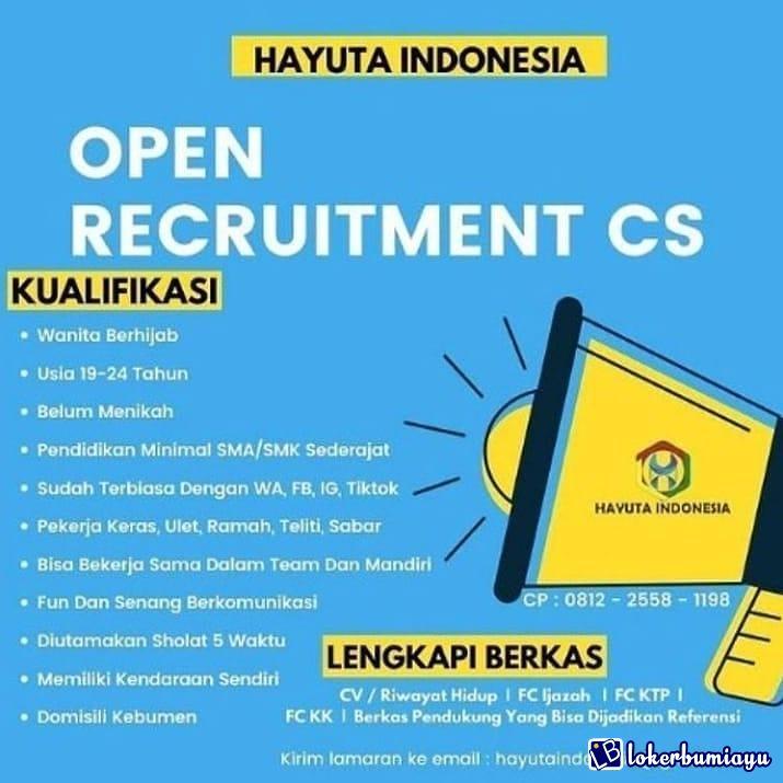 HAYUTA INDONESIA KEBUMEN