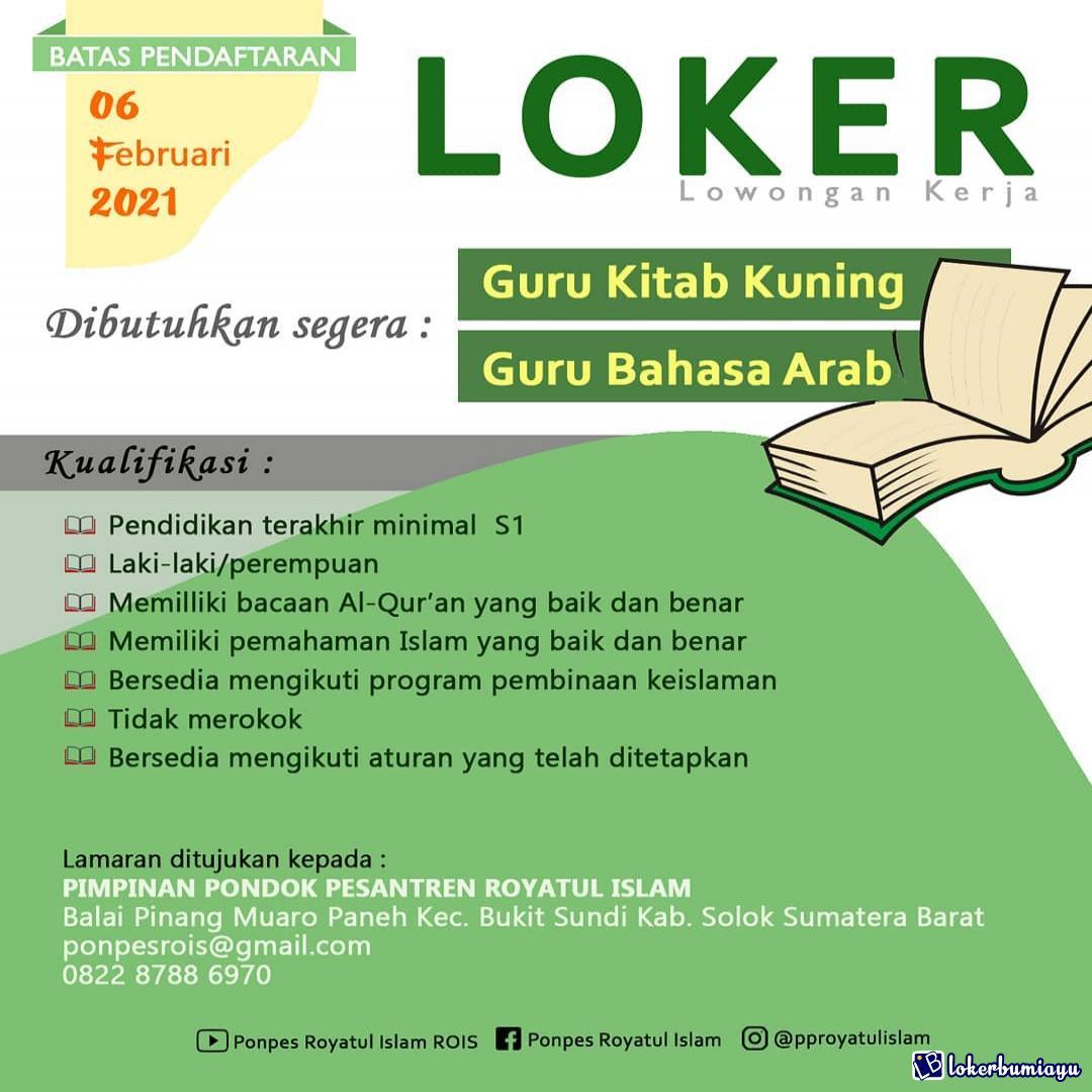 Pondok Pesantren Royatul Islam Solok