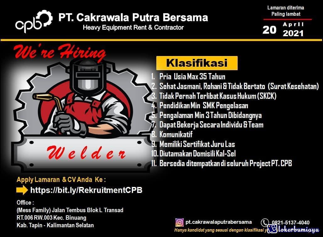 PT CPB Kalimantan Selatan