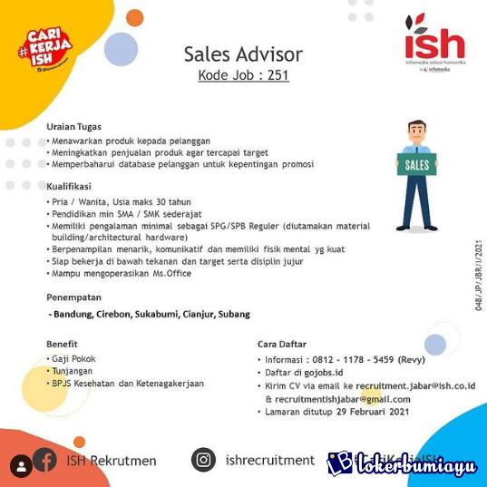 Lowongan Kerja Di Subang Jawa Barat Juli 2021