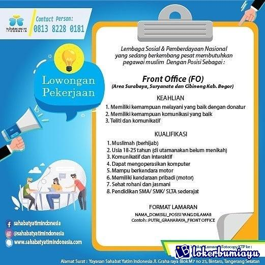 Lowongan Kerja Di Tangerang Selatan Banten Juni 2021
