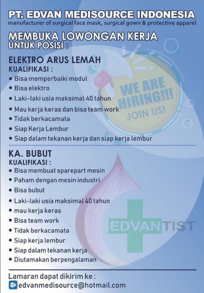 PT. EDVAN MEDISOURCE INDONESIA